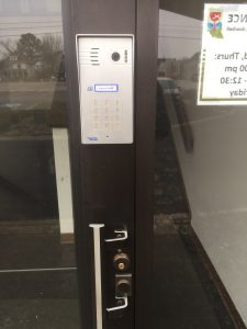 wireless intercom with keypad entry