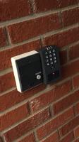 intercom and access keypad